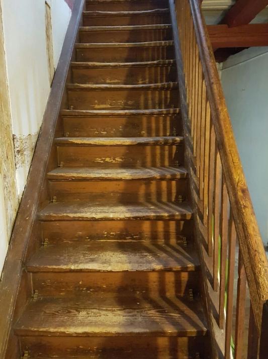 Stairs to Dora Kalff's Office Zollikon